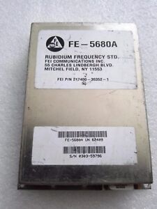 1pcs Used Original For Fe 5680a 10mhz Out Rubidium Atomic Frequency Standard
