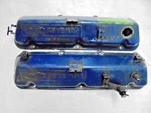 429 460 Big Block Valve Cover Powered By Ford Pair