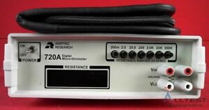 Amptec Research 720a Digital Micro ohmmeter