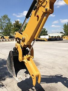 New Direct Link Hydraulic Thumb For Caterpillar 416d Backhoes