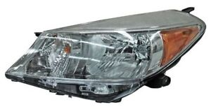 For 2012 2014 Toyota Yaris hatchback Left Driver Headlamp Headlight Lh
