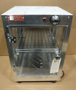 Heat Max Commercial Food Warmer New Dimensions 21x14x14 Stainless Steel