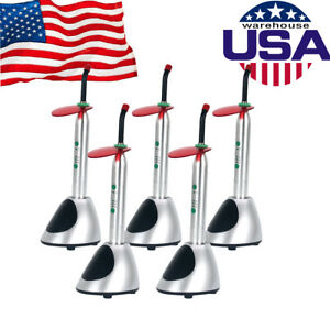 5 X Wireless Dental Clinic Led Curing Light Lamp 2700mw c Cordless Solidify Ems
