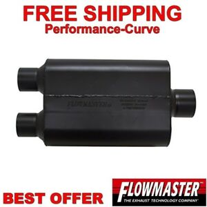 Flowmaster Super 44 Series Stainless Steel Muffler 2 5 D 3 C 8425453