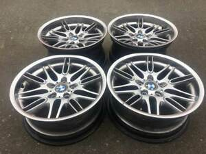 Stunning Set Of Oem Genuine Bmw M5 18 Inch Rims In Good Used Condition E39