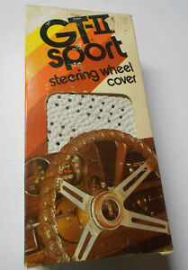 Vintage Sport Grip Gray Gt Ii Steering Wheel Cover Made In Usa Gray Grey