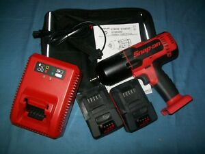 New Snap On Lithium Ion Ct8850 18v 18 Volt Cordless 1 2 Impact Wrench Gun