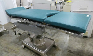 Amsco 1080 Manual Hydraulic Operating Surgical Table Rare Factory Rebuilt X ray