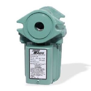 Taco 009 hbf5 j Bronze Cartridge Pump circulator For Outdoor Wood Boiler