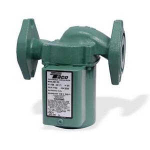 Taco 007 hbf5 j Bronze Cartridge Circulator Pump For Outdoor Wood Boiler