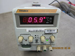 Tenma 72 2075 Laboratory 30v Dc Power Supply 3a Warranty