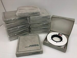 Lot Of 13 Brand New Rolls Of Ampex 196 1 Precision Magnetic Video Tape