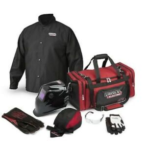 Lincoln Welding Gear Ready pak Size Large Lincoln Viking 1840 Helmet Free Ship