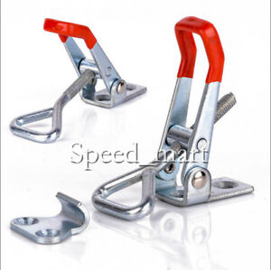 4pcs Gh 4003 Quick Toggle Clamp Clip 300kg 661lbs Holding Metal Latch Hand Tool