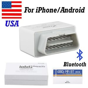 Usa Iobd2 Bluetooth Obd2 Eobd Auto Code Scanner Diagnostic For Iphone android