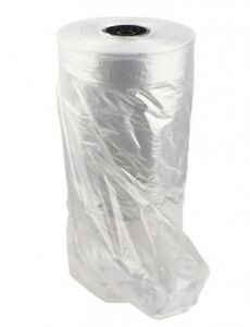 Clear Plastic Garment Bags On A Roll 54 h Medium Weight