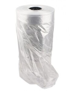 Clear Plastic Garment Bags On A Roll 54 h Super Weight
