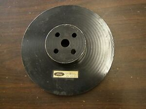 Nos Oem Ford 1956 1957 Thunderbird T bird Water Pump Pulley Steel 292 312ci