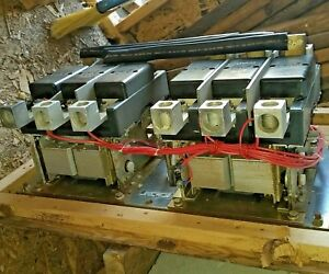 400 Amp 208 240 Volt Coils 3 Phase 307 1208 Onan Transfer Switch Contactor Nos