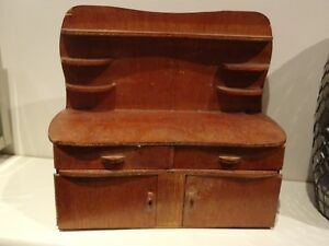 Vintage Antique Handmade Mini Welsh Dresser