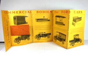 Ford Model A B C D E Original Commercial Body Brochure Haberer