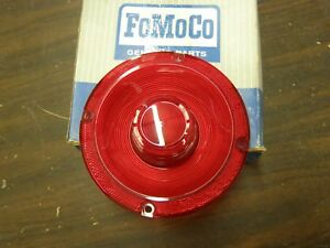Nos Oem Ford 1966 1967 Falcon Tail Light Lamp Lens W O Backup Lights