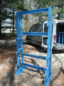 Large Cable Reel Rack 96 H 54 w 26 D Equipto