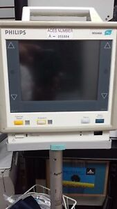 Philips Monitor Mp4 M 3046 A With Nibp spo2 ecg