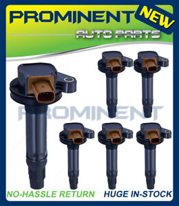 High Performance Pack Of 6 Ignition Coil Uf646 For Ford F 150 Explorer 3 5l
