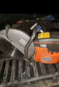 Husqvarna K 760 Cut Off Chop Concrete Demolotion Saw