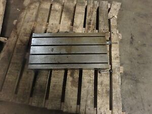 12 X 24 50 X 4 Steel Weld T slot Table Cast Iron Layout Plate Fixture Jig