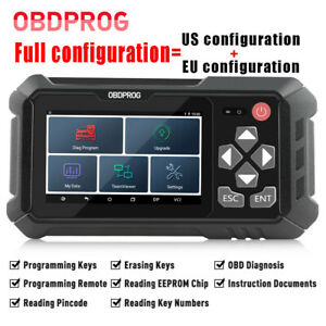 Launch Automotive Obdii Diagnostic Scanner Tpms Abs Srs Dpf Epb Oil Reset Tools