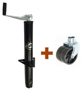 New Libra 2000 Lbs A Frame Topwind Trailer Jack With 6 Dual Wheel Caster