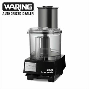 Waring Wfp14s Combination 3 5 qt Food Processor With Liquilock Seal System