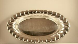 Vintage 13 Silver Plate Bread Tray By Wm Rogers No 3819