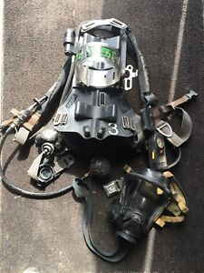 Msa Firehawk 4500psi Cbrn Airpack Scba With Heads up display Rit
