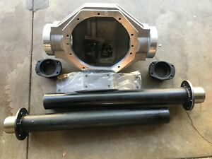 Ford 9 Inch Rear End Aluminum Housing W Steel Axle Legs Big Bearing Ends 3 8