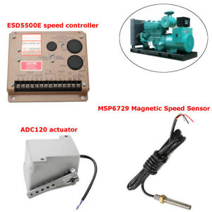 Esd5500e Speed Controller msp6729 Magnetic Speed Sensor adc120 Actuator Tool