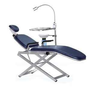 Tpc Portable Dental Chair Unit With Cuspidor Pc2720 Led Light