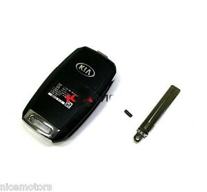 Folding Remote Control Fob Key For Kia New Optima K5 2014