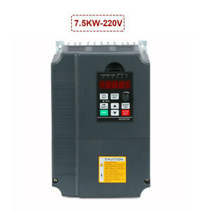 7 5kw 220v 10hp 34a Ce Quality Vfd Variable Frequency Drive Inverter New
