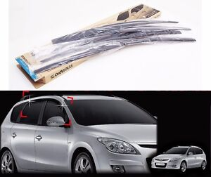 Window Smoke Sun Door Visor For Hyundai Elantra Touring Wagon I30cw 2008 2011