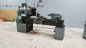 Leblond Lathe With Dro And Quick Change Tool Post