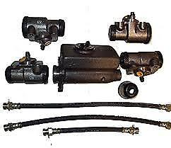1942 1946 1947 Ford Brake Kit Pickup Truck Master Cylinder Wheel Cylinder Kit