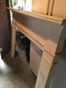 Fireplace Mantel Surround 66 Wide X 52 Tall