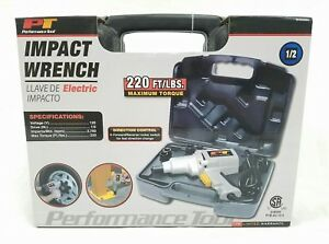 Performance Tool Impact Wrench W50080 1 2 Inch Drive And 120 Volt New