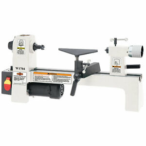 Shop Fox W1704 1 3 Hp 110v Variable Speed Bench Top Wood Lathe
