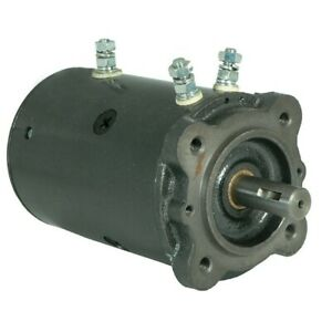 New Winch Motor 24 Volt For Ramsey Winch Applications 46 2289 46 3523 Mmd4001
