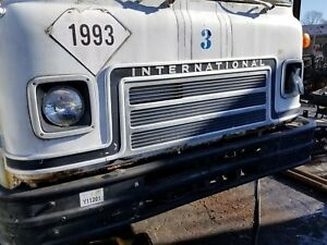 International Cargostar Front Grill Assembly And Bezels