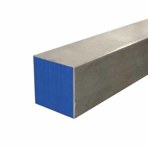 304 Stainless Steel Square Bar 1 1 2 X 1 1 2 X 12 Long